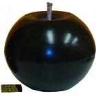 Kültéri fekete dekor gömb gyertya  365702