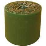 Zöld szerencse gyertya 1612